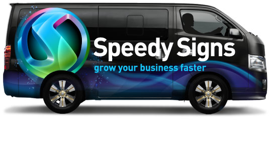 advertising speedy signs